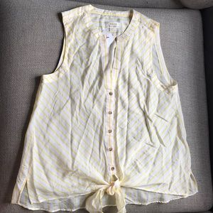 NWT Maeve by Anthropologie Bottom Tank Top Size 8